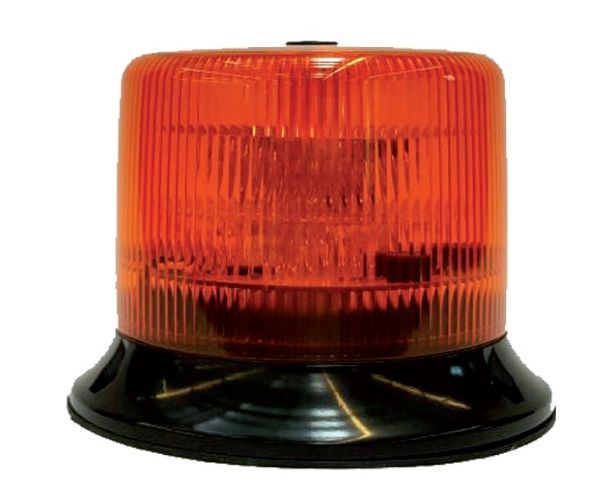 Gyrophare orange rotatif LED homologué R65 sesaly