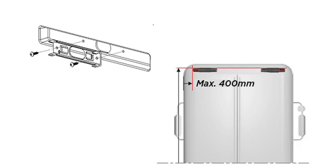 SESA Airglow SESALY - LED rear light bus and coach (drawing3)