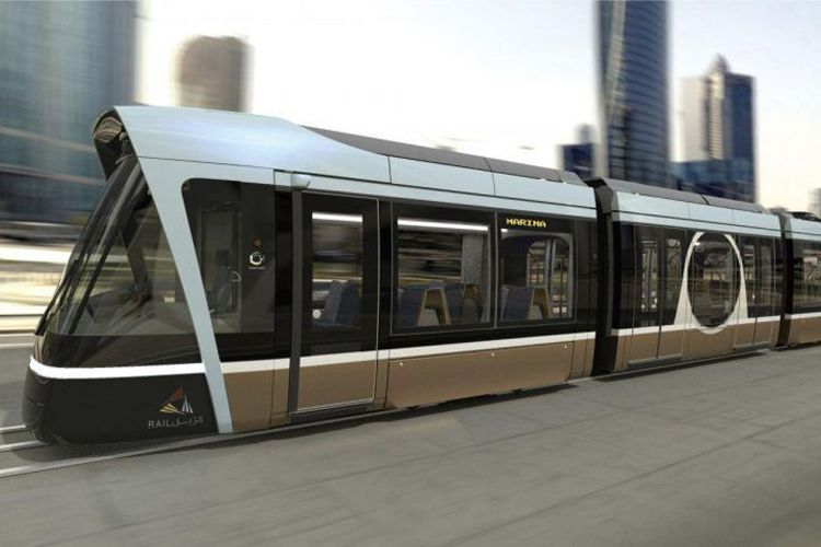 LED-lighting-signature-and-USB-charging-sockets-tramway-Lusail